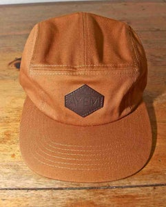 Image of AYEMLIFESTYLE KHAKI/ TAN five panel