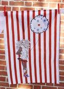 Image of Balloon Girl Tea Towel