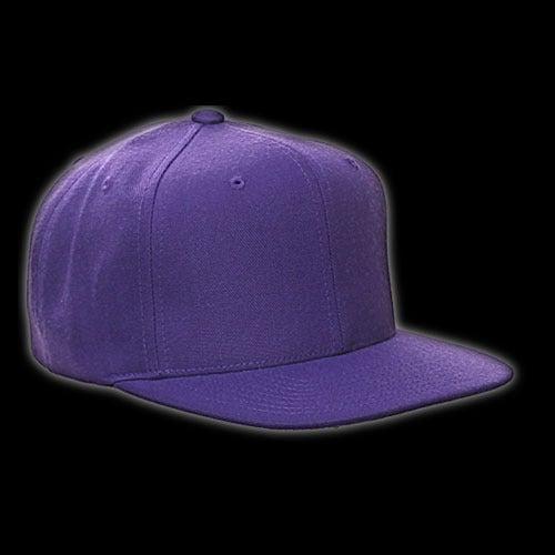 Image of Snapback violette vierge