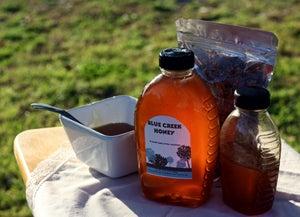 Image of 32 oz Blue Creek Honey (mason jar)