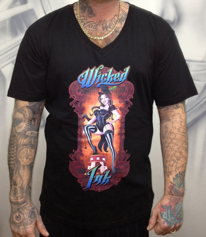 Image of Men's Black Ringmaster V-Neck