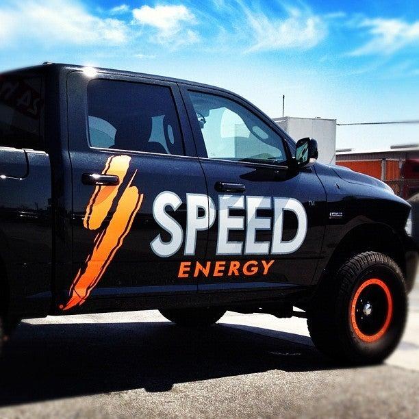 Image of SPEED Energy Decals