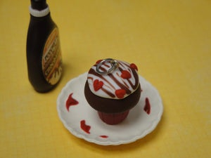 Image of Valentine's Love Cupcake Charm