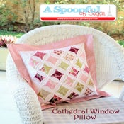 Image of Cathedral Window PDF Sewing Pattern