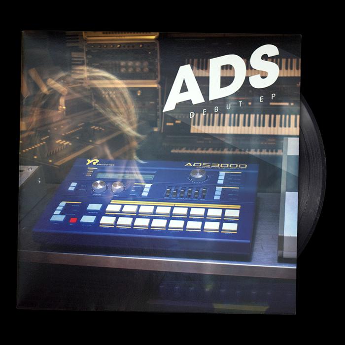 Image of ADS —Debut EP Vinyl