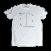 Image of WHITE LOGO T-SHIRT