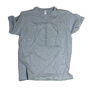 Image of HEATHER GRAY LOGO T-SHIRT