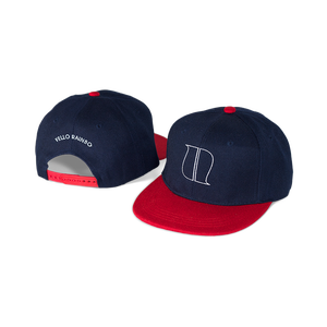 Image of NAVY BLUE/RED SNAPBACK