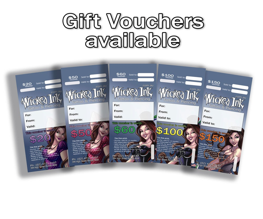 Image of $20 Gift Vouchers