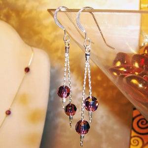 Image of Raztini Swarovski Earrings