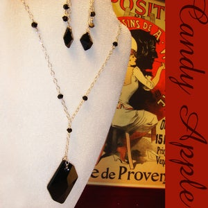 Image of Black Velvet Necklace