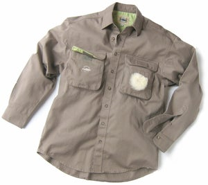 Image of Big Pocket FISHING SHIRT (Clay)