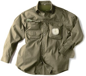 Image of Multi-pocket FISHING SHIRT (Leaf)