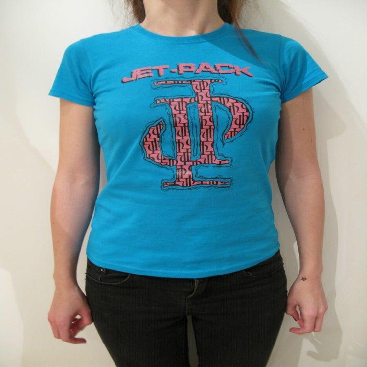 Image of JP Logo T-Shirt - Blue Girls - £3