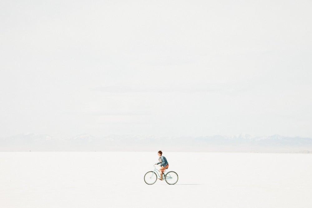 Image of Bike ride at the Salt Flats