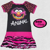 Image of **SOLD OUT ** Animal The Muppets Dress - Size 7/8