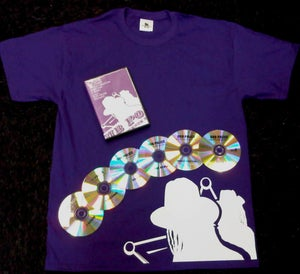 Image of Dub Police Front Line Purple/White Logo Mens DVD Package