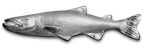 Image of Salmon Fish Pin