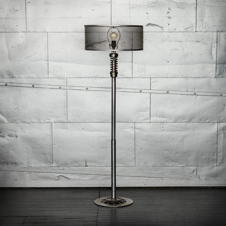 Image of Classified Moto Floor Lamp