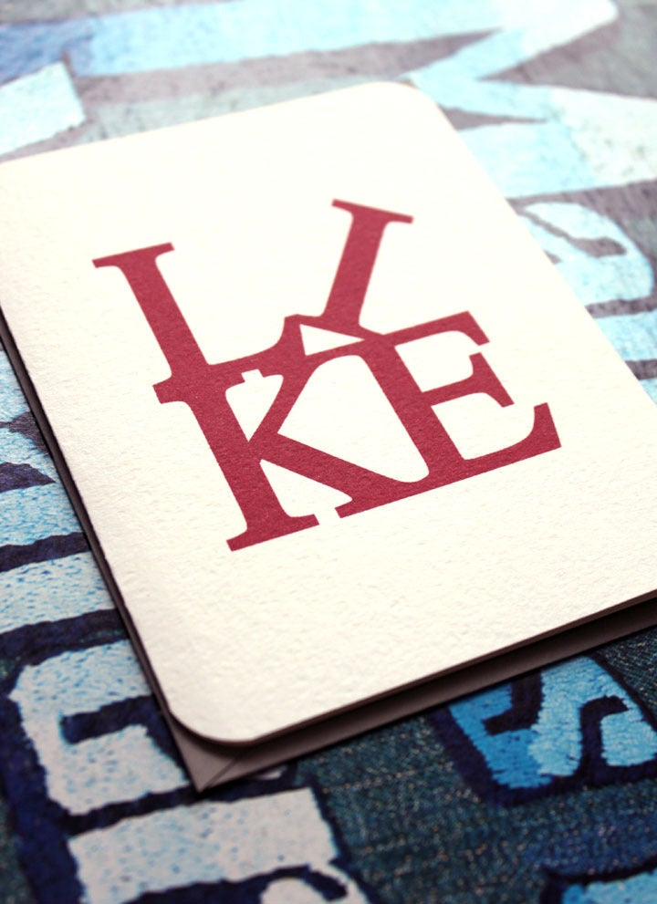 Image of LIKE card