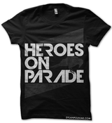 Image of Heroes On Parade Crow Shirt