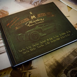 Image of The Hot Rod Art book: Masters of Chicken Scratch Vol 2