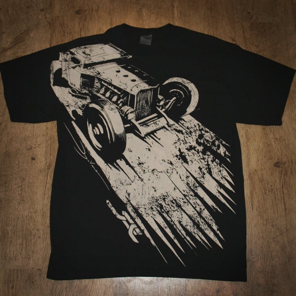 Image of Runnin Flat 2 Tshirt Black