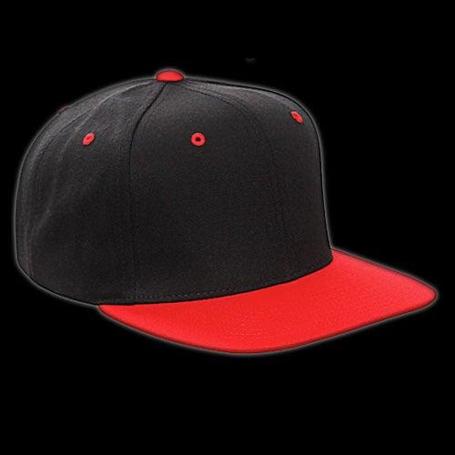 Image of Snapback noir/rouge vierge