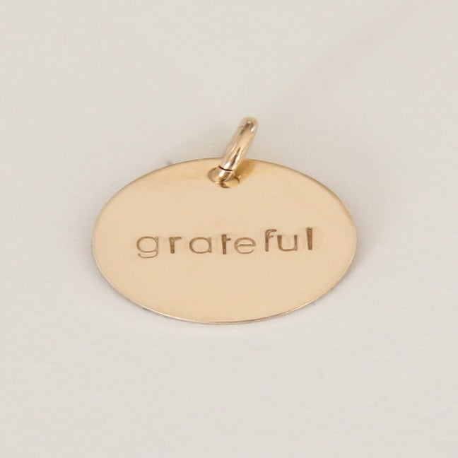 Image of GRATEFUL Charm