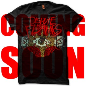 Image of Dispute To Flames - Eyeball Black Shirt