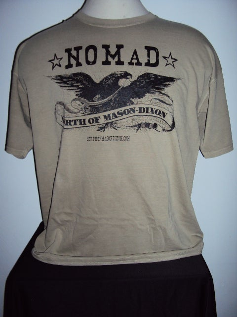 Image of NOMaD Eagle Logo Tan T-Shirt