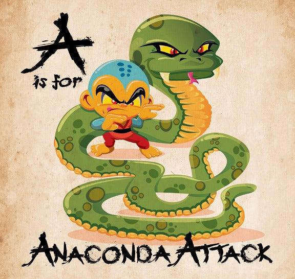 Image of The ABC's of Monkey Kung Fu!