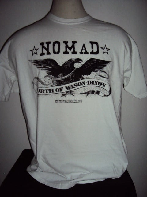 Image of NOMaD Eagle Logo White T-Shirt