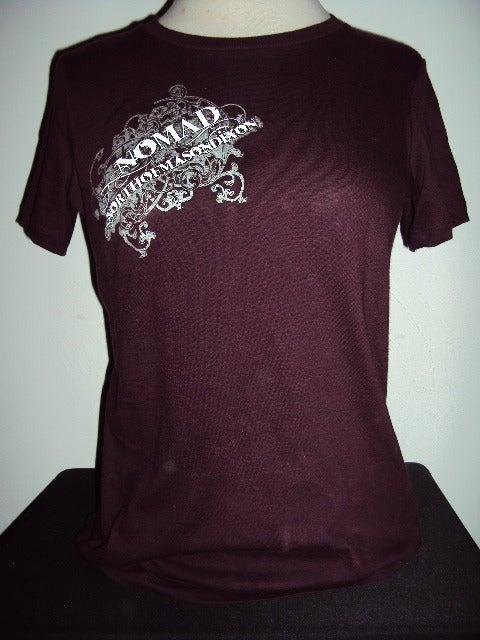 Image of NOMaD Ladies INKed Logo Purple T-Shirt