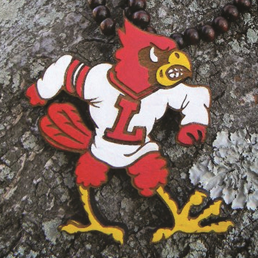 Image of UofL Cardinal Necklace