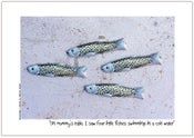 Image of Toy poster - I saw four little fishes