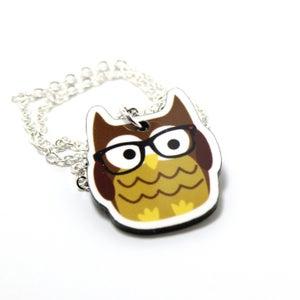 Image of Nerdy Owl Necklace