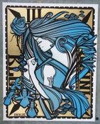 Image of INK NOUVEAU - BLUE