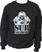Image of Sub Soldiers Black/Silver Mens Sweater