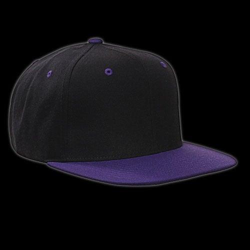 Image of Snapback noir/violette vierge
