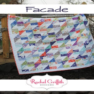 Image of facade quilt pattern #110