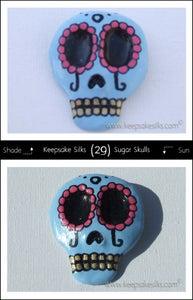 Image of Sugar Skulls Hair Piece - Decorated