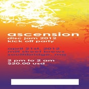 Image of (1) Ticket for Ascension @ Mill Street Brews 4/21/2012