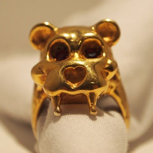 "Image of ""Teddy"" Gold Plated Brass"