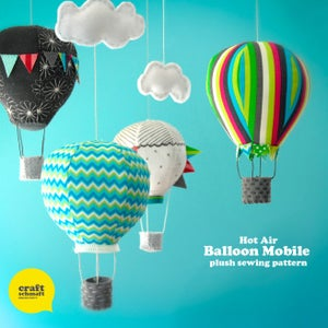 Image of Air Balloon Mobile e-Pattern