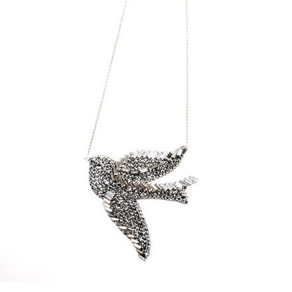 Collier Vintage bird big - ~EN STOCK~