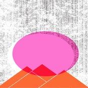 Image of Sun Mountains Silkscreen Art Print