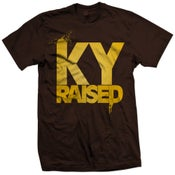 Image of KY Raised in Brown/Gold