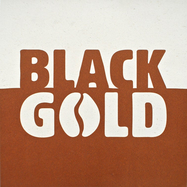Image of Black Gold - Coffee print