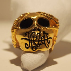 "Image of ""Logo"" Ring Brass"